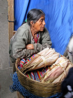 Mayan Corn Vendor, Chichicastenanga